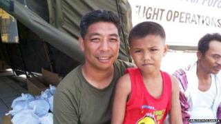 Fermin Carangan and Miguel Rulona