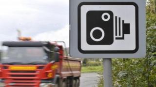 Speed camera warning