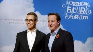 David Cameron and Alexander Stubb
