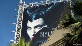 Billboard of Disney movie Maleficent