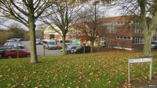 West Midlands Ambulance Service Hilton Road base