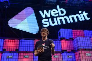 Paddy Cosgrave at Web Summit