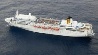 Cruise ship, file pic