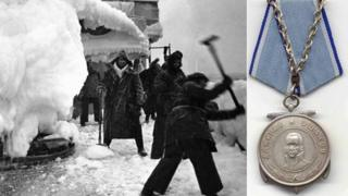Arctic Convoy image and the Medal of Ushakov