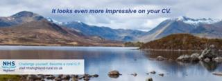 NHS Highland advert