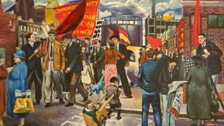 Branson: Battersea Demo