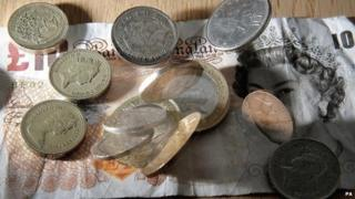 Coins and notes