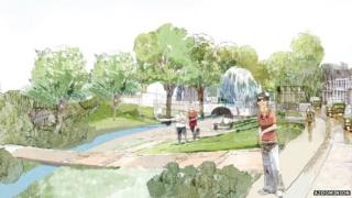 Bicester eco-town artist's impression