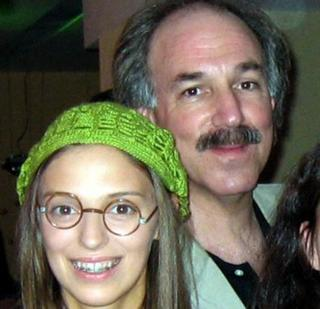 James Kramer with Nelli Uvarova, who plays the Russian version of Ugly Betty