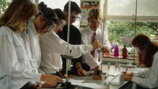 school science class