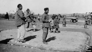Chinese workers in World War One