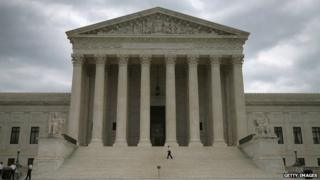 US Supreme Court in Washington DC, seen on 20 August 2014
