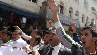Sanaa protest