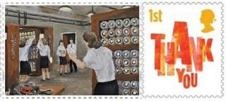 Bombe stamp