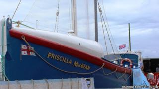 The restored Priscilla MacBean