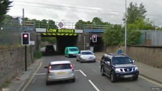 Springfield Road bridge, Grantham