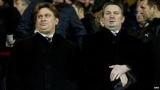 James (left) and Sandy Easdale