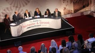 Rochester & Strood by-election TV debate