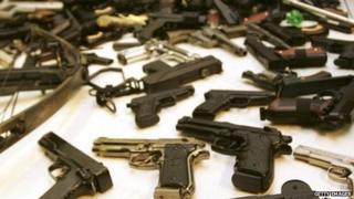 guns surrendered in amnesty