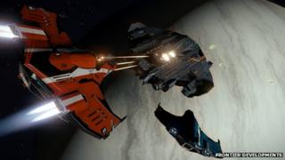 Screenshot from Elite Dangerous