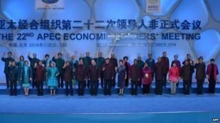 Apec summit: China and Japan in ice-breaker talks