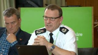 Nottinghamshire Police Chief Constable Chris Eyre