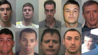 'Most wanted' images