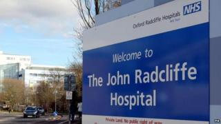 John Radcliffe sign