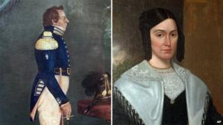 Portraits of Joseph and Emma Smith