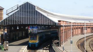 Holyhead railway station