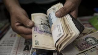 Argentine pesos (file picture)