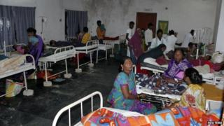 Papers say the deaths highlight India's appalling healthcare system