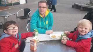 Ben, Darren and Harry Jones