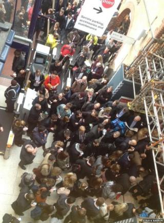Congestion at Chelmsford railway station