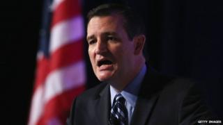 US Senator Ted Cruz speaks in Washington on 26 September, 2014.