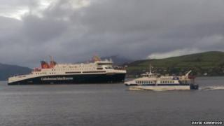 MV Loch Seaforth on the Clyde