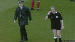 Footage shown to the Hillsborough jury
