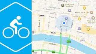 Glasgow Cycling app