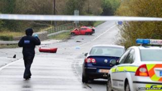 Fatal road crash n County Louth