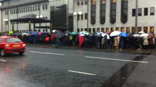 Derry protest