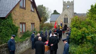 Harold Morgan funeral