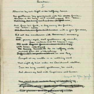 Extract from the notebook