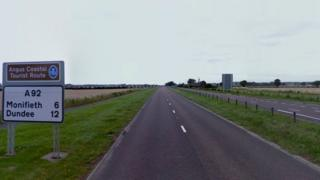 A92 at Carnoustie