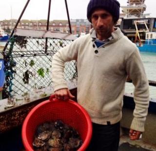 Portsmouth fisherman Ben Weeks