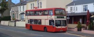 School bus, Isle of Man