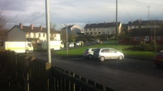 A suspicious object was discovered in Sunnyside Drive in Maghera