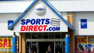 Sports Direct store