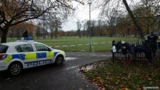 Scene of sex attack in Meadows