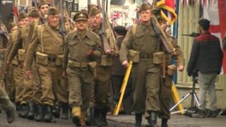 dad's army in Bridlington