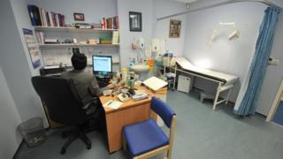 GP consulting room - generic
